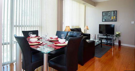 Furnished Apartments For Rent in Mississauga